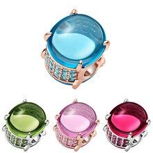 2021 новые серебряные бусины 925 пробы, синий, зеленый, розовый, овальный кабошон, очаровательные, подходят к оригиналу Pandora, браслет для женщин ...