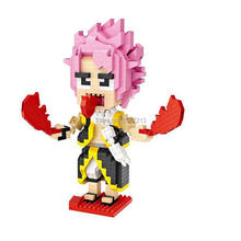 hot LegoINGlys creators classic Japan anime FAIRY TAIL figures Etherious Natsu Dragneel mini micro diamond building blocks toys
