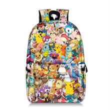 Super 17 cali Mario bros Pikachu plecak dzieci torba dla dzieci piękny nadruk wzór Mario Sonic kobiety pojemność torba podróżna tanie tanio DDAYXXUAN NYLON zipper Cartoon 29cm Torby szkolne Dziewczyny 17cm 37cm 0 8kg Mario Bros Pikachu Backpack Children Kids Bag