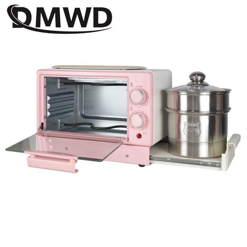 Электрическая духовка, машина для завтрака, стейк, яйцо, омлет, сковорода, тостер, хлеб, пицца, торт, гриль, пароварка, лапша, кастрюля для супа