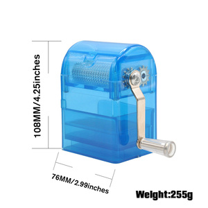 Image 2 - HORNET 플라스틱 허브 분쇄기 핸드 크랭크 분쇄기 흡연 분쇄기 담배 커터 분쇄기 보관 케이스 핸드 밀러