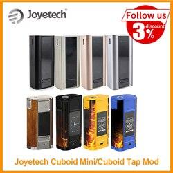 [Ru/eua/es] original joyetech cuboid mini bateria vape mod construído em 2400 mah 80 w saída vt/vw modo cuboid tap mod por zeus x e-cig