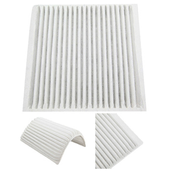 1pc Air Filter Cabin For Toyota For Sienna 2004-2009 White Accessories image