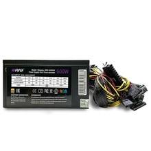 Блок питания HIPER HPB-600RGB 600W, ATX 2.31, 140х140 mm Fan, 5x SATA, 2x PCI-E, 1x CPU, EPS12V, 200-240 В, 20+4 pin