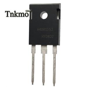 Image 4 - 10PCS IHW40N135R3 H40R1353 כדי 247 IHW40N135R5 H40RP5 TO247 40A 1350V כוח IGBT טרנזיסטור משלוח משלוח