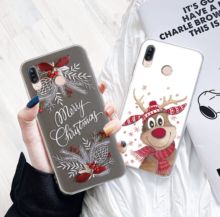 Christmas gift Phone Case <font><b>For</b></font> <font><b>Asus</b></font> <font><b>ZenFone</b></font> 6 Max Pro Plus M1 ZS630KL 3 4 Max Silicone <font><b>Cover</b></font> <font><b>For</b></font> <font><b>ZenFone</b></font> 5 Lite L1 TPU Fundas New image