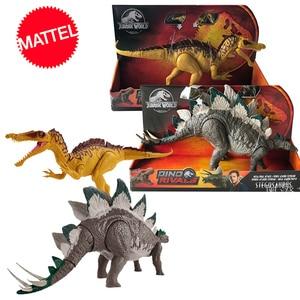 Original 37cm Jurassic World 2 Large Competitive Dinosaur Model Action Figure of Tyrannosaurus Toys for Children Dragon Oyuncak(China)