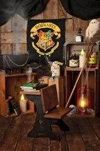 הארי אור חדר ספר שולחן עץ פוטר רקע באיכות גבוהה מחשב הדפסת יילוד תינוק ליל כל הקדושים תפאורות
