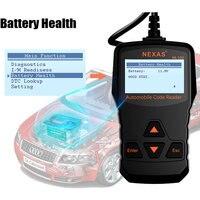 NL100 OBD2 Automotive Scanner OBDII Engine Car Diagnostic Universal OBD 2 Auto scanner PK ELM327 OBD EOBD Diagnostic Tool