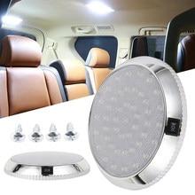 Kit de iluminación Interior para techo de coche, iluminación para caravana, barco, remolque, camión, autocaravana, 46Led