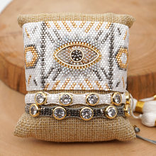 Женский браслет shinusboho miyumi с кристаллами в форме глаза
