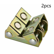 Fixture-Holder Hand-Tool Welding-Clamps Magnetic Adjustable V-Type Strong 2pcs V-Pads