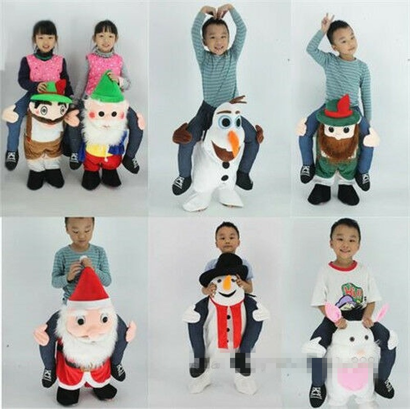 Children Carry Piglets Ride On Me Dress Mascot Costume Gift Kids Free Delivery New Animals & Nature Santa Claus Gift Party
