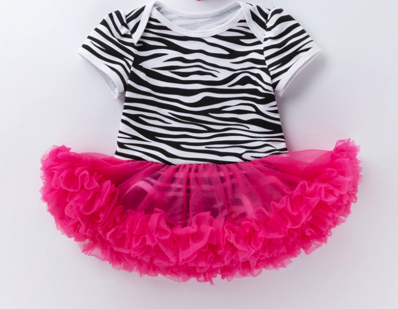Hot Girls Newborn Clothes Baby Rompers Dress Clothing Zebra Toddler Children Jumpsuits Roupas De Bebe Infantil Costumes