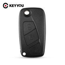 Keyyou 2 Knoppen Vervanging Remote Autosleutel Case Shell Cover Voor Fiat Punto Ducato Stilo Panda Centrale 500 Punto Bravo(China)
