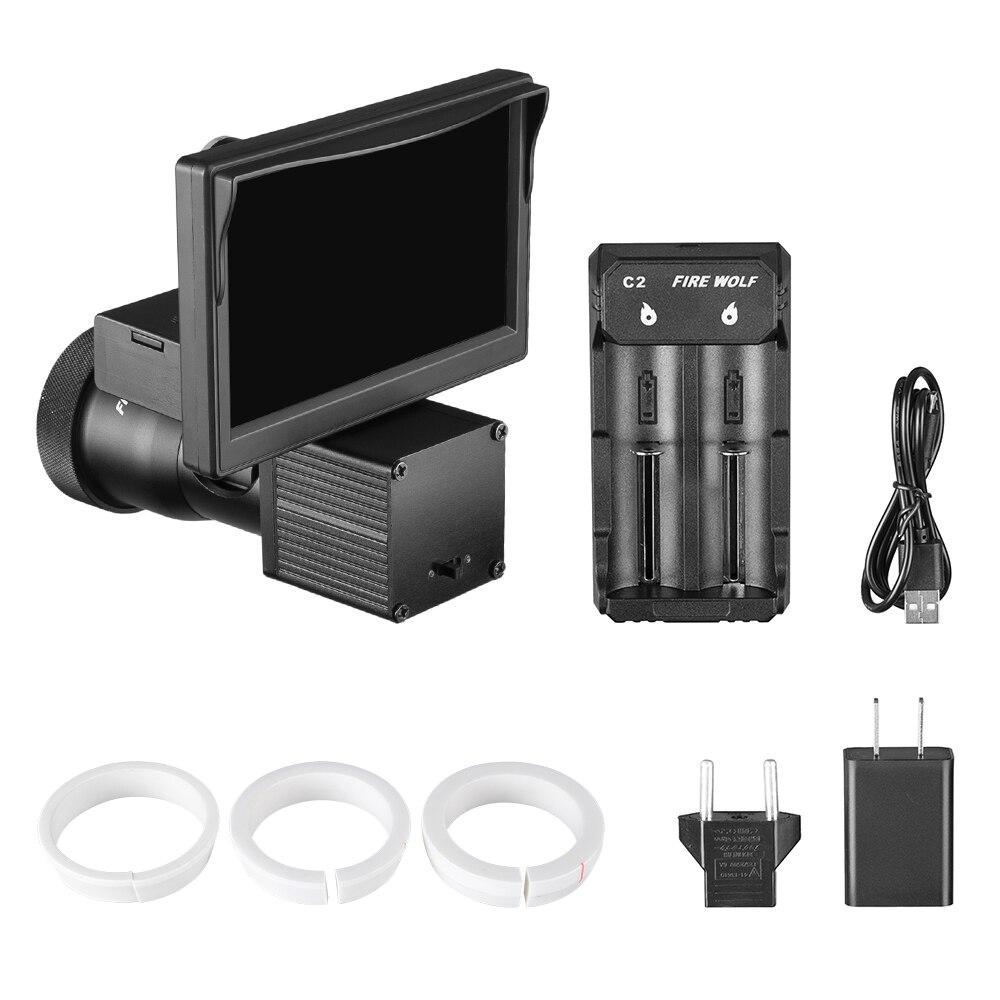 1080 p escopo cameras de video iluminador 05