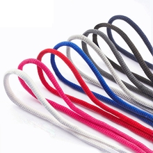 Classic Round Shoelaces Leisure Sport Shoe laces Outdoor Men And Women High Quality Shoelace Fashion Multi Color 1 Pair