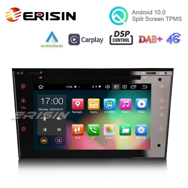 "ES8173P 7 ""אנדרואיד 10.0 רכב DVD עבור אופל Signum Corsa Signum CarPlay & אוטומטי DSP OBD DAB + GPS יום שבת"