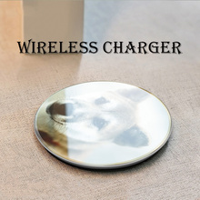 QI 10W Quick Wireless Charger For iPhone XS Max XR X 8 QC 3.0 Fast Charging For huawei p30 pro p20 lite mate 20 USB Charger Pad