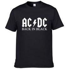 Banda de rock ac dc t camisa masculina 2021 verão 100% algodão marca de moda acdc homem camiseta hip hop t legal streetwear #149