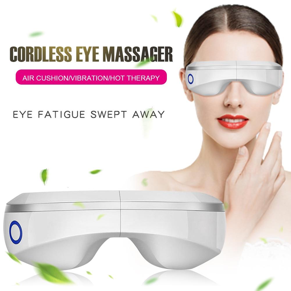 dc eletrico musica maquina de vibracao massager do olho magnetica dispositivo de pressao de ar massagem