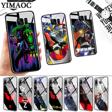 Mazinger Z New Stylish Glass Case for Samsung S7 Edge S8 S9 S10 Plus S10E Note 8 9 10 A10 A30 A40 A50 A60 A70