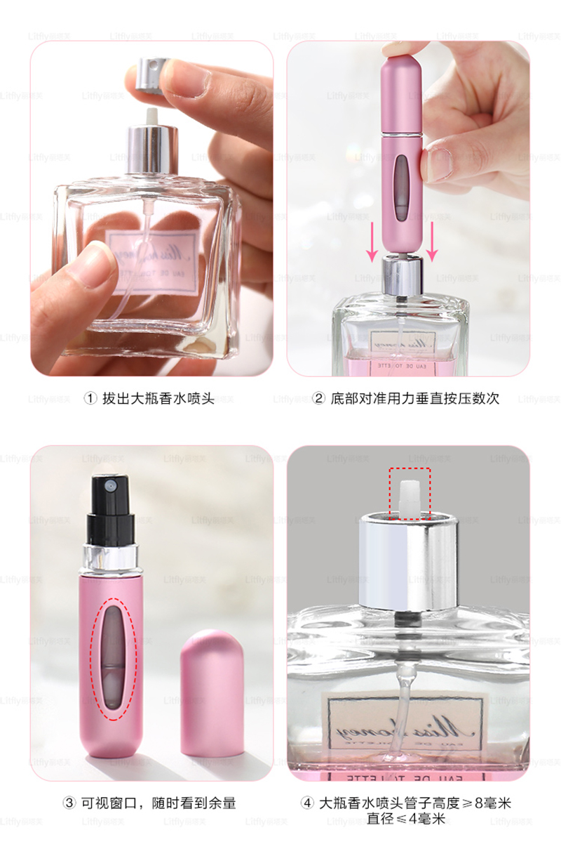 Mini Perfume Spray Bottle 2