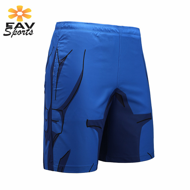 2019 Stylish 3D Print Men's Summer Beach Pants Quick Dry Surf Board Shorts Travel Beach Shorts Pants Sportswear Mens Shorts
