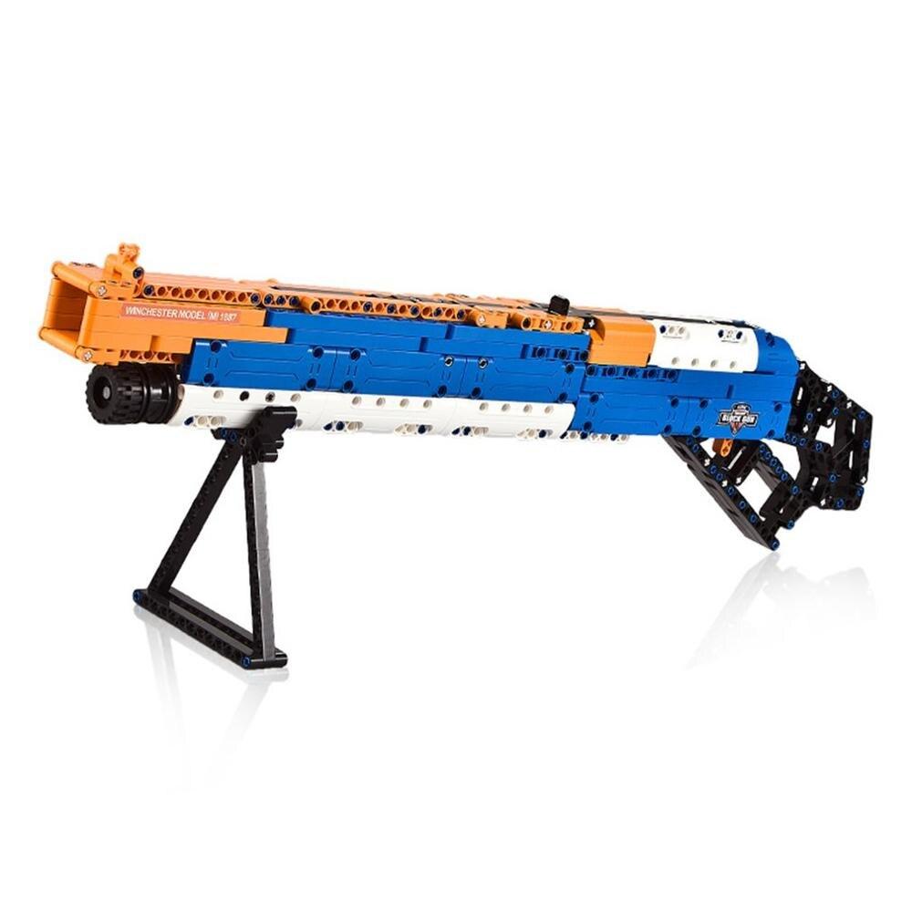 506 pièces 4D fusil assemblage bricolage modèle Puzzle soldat arme pistolet jouets début éducatif cadeau pour enfants garçons jouet pistolet