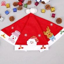 Рождественские Зимние шапки для женщин с украшением, красные помпоны, зимняя женская шапка, женские шапки, зимние шапки с помпоном, бонэ#3