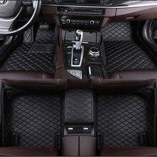 Alfombrilla personalizada de 5 asientos para coche, accesorios para coche, alfombra, bolsillo para teléfono, para Mercedes GLA clase gl180, GLA200, GLA250, GLB250