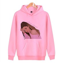 Woman Korean Hoodies New Hood Female Sweatshirt Women Pullover Streetwear Ariana