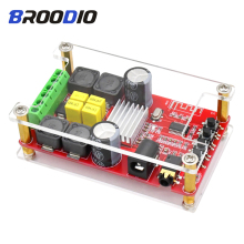 TPA3116D2 Bluetooth 5.0 Amplifier Board Audio Digital Power Amplifiers 2.0 Channel 2*50W Stereo Amp DIY DC12--24V With Shell