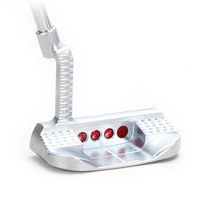Image 5 - Golfclubs Putter Kleurrijke Putter Met Stalen Materiaal Mens33/34/35 Inch Distributie Headcover Drie Meer Preferentiële