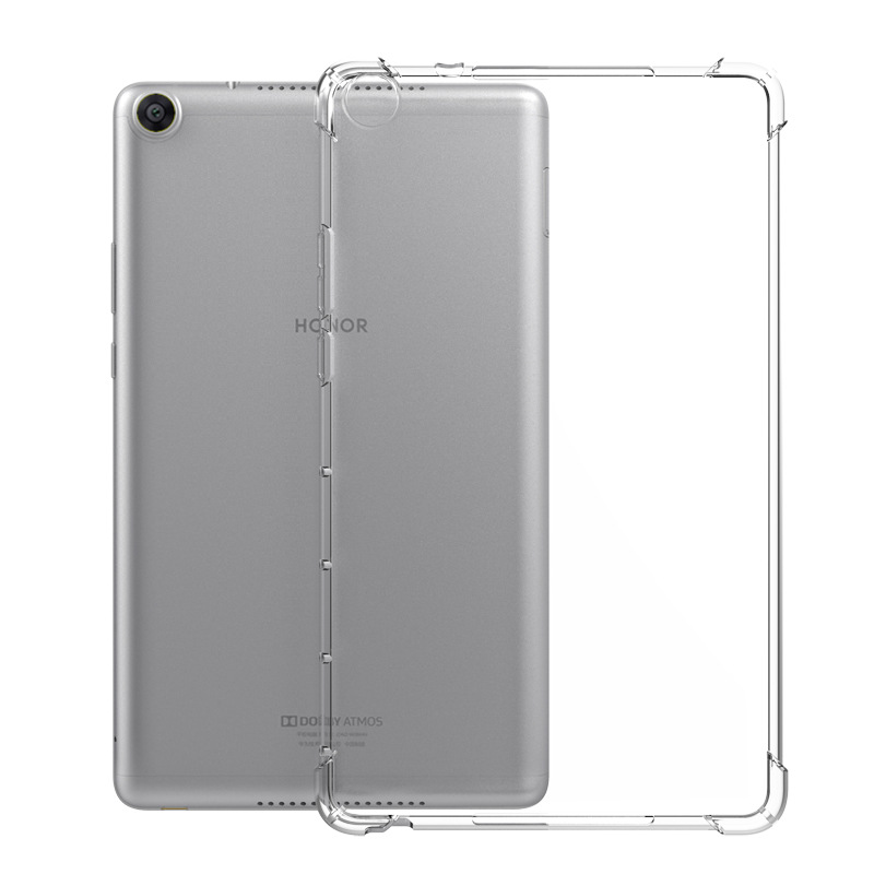 Transparent Shockproof Bumper Case For Huawei MediaPad T3 M3 M5 M6 Case Clear TPU Silicone Cover For MatePadPro 10.8 Funda Coque