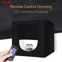 LED Folding Photo Studio Softbox Lightbox 50 cm light Tent Photography Light Studio Shooting Tent Box Kit CD50 T07 RR1 A