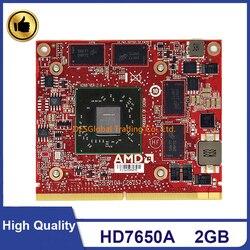Original HD7650A 215-0803043 Video gráficos VGA tarjeta para HP Eliteone 600 800 Compaq 8200 8300 envidia 20 23 MXM III 2GB 100% de prueba