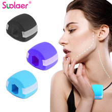 Jaw Exercise Ball Food-grade Silica Gel JawLine Muscle Training Fitness Ball Neck Face Toning Jawrsize Muscle Exerciser Dropship