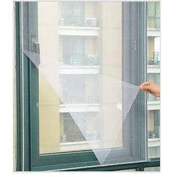 Moskitiery DIY moskitiery moskitiery moskitiery kryty owady siatki netto zasłony ochrona domu okno netto z Velc tanie i dobre opinie H0923 Drzwi i okna ekrany Włókno poliestrowe