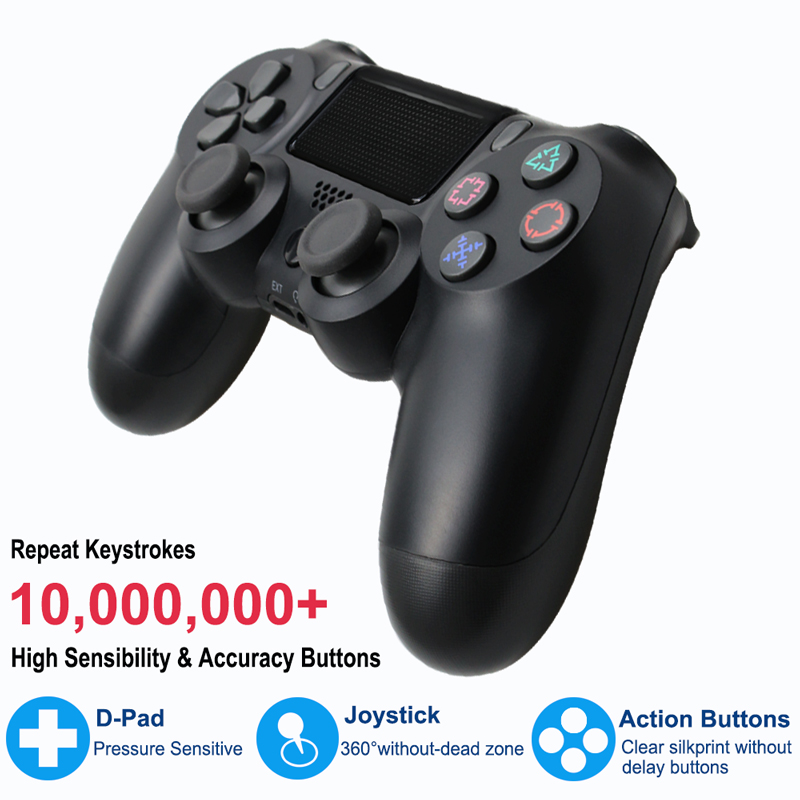 Bluetooth Gamepad and Wireless Game controller with Audio Function for PS4 and PS3 13