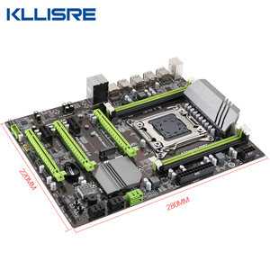 Image 3 - Kllisre X79 motherboard set mit Xeon E5 2689 2x16GB = 32GB 1600MHz DDR3 ECC REG speicher ATX USB 3,0 SATA3 PCI E NVME M.2 SSD