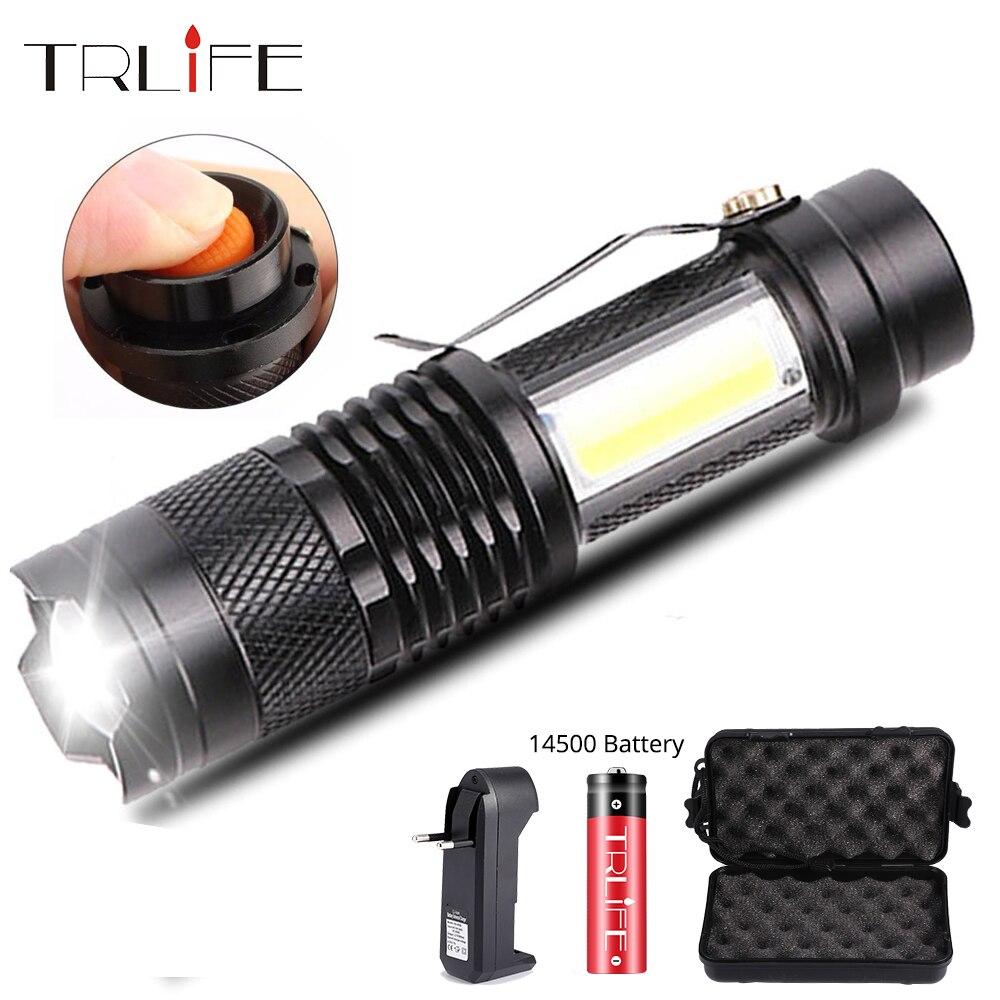 5PCS Mini Flashlight AAA 6000LM LED Pocket Portable Torch Penlight Light Lamp