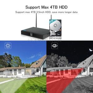 Image 3 - Camera IP Wifi NVR Bộ Dụng Cụ Video Giám Sát Thời Tiết Hệ thống camera Giám Sát wifi nhà Camera an ninh Hệ thống 4CH