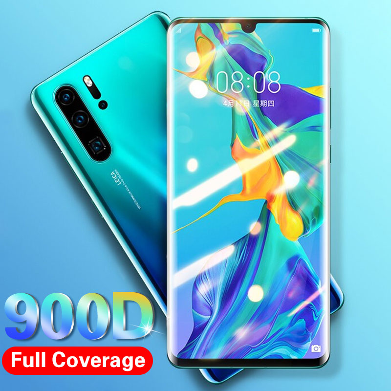 900D Full Cover Tempered Glass On For Huawei P30 Lite PRO P20 Lite Screen Protector For Huawei Honor 10 Lite 9 Protective Glass