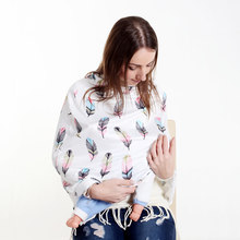 Nursing Cover Scarf for New Mum Breastfeeding Baby CarSeat Cover Car Purchase Canopy Shopping Cart Cover for Unisex Babies(China)