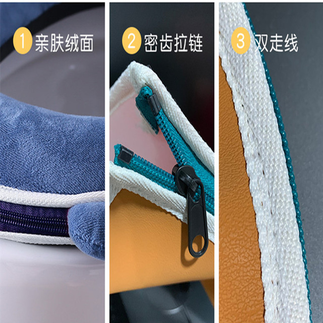 Universal plush Toilet Cushion Household Warm Soft Thicken Toilet Seat Cover Winter Waterproof WC Mat Bathroom Products 5