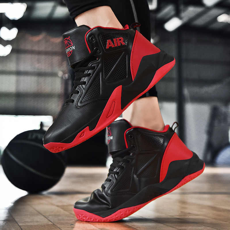 BOUSSAC وسادة هوائية الأردن الرجعية حذاء كرة السلة عالية أعلى كرة السلة رياضية زوجين الأحذية في الهواء الطلق كبيرة الحجم 36-48 أحذية رياضية