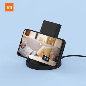 Image 4 - Оригинальное вертикальное Беспроводное зарядное устройство Xiaomi, 20 Вт, горизонтальная подставка для Mi 9 (20 Вт) MIX 2S / 3 / S10 (10 Вт), совместимая с Qi, универсальная, безопасная