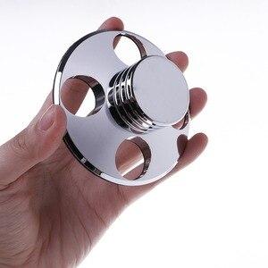 Image 5 - Audio LP In Vinile Dischi Girevoli Metallo Stabilizzatore del Disco Giradischi Peso Morsetto HiFi S19 19 Dropship