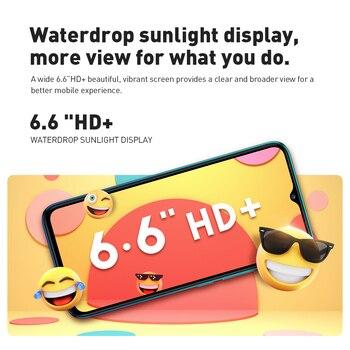 Global Version Infinix Hot 10 Lite 2GB 32GB Mobile Phone 6.6''HD Screen Smart Phone 5000mAh Battery 13MP AI Triple Camera 2